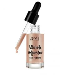 open bottle with a slightly slant dropper of Ardell Attitude Adjustor Shade FX Drops - Longing Looks shade