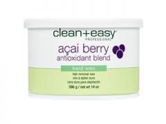 Clean + Easy Acai Berry Hard Wax, 14 oz.