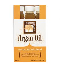 Large Argan Oil Wax Refill - 3 pk