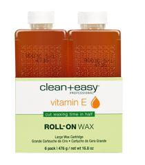 Large Vitamin E Wax Refill - 6 pk