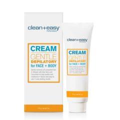 Cream Gentle Depilatory For Face + Body