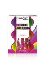 SuperNail Bright Accents Acrylic 6 pc Kit
