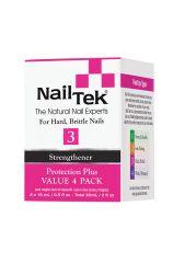 Nail Tek Protection Plus 3 Pro Pack - 4/0.5 oz
