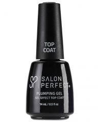 Salon Perfect Nail Lacquer, 624 Plumping Gel Top Coat, 0.5 fl oz