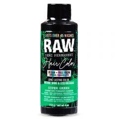 Raw Demi-Permanent Hair Color, Super Green, 4 fl oz.