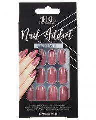 Ardell, Nail Addict Premium Artificial Nail Set, Sweet Pink