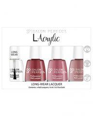 Salon Perfect .5oz Lacrylic Lacquer Bundle Pink