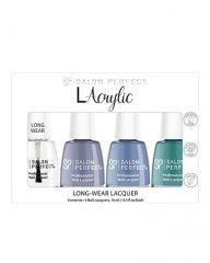 Salon Perfect .5oz Lacrylic Lacquer Bundle Blue
