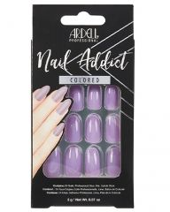 Ardell, Nail Addict Premium Artificial Nail Set, Lovely Lavender