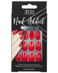 Ardell, Nail Addict Premium Artificial Nail Set, Cherry Red