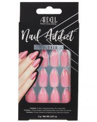 Ardell, Nail Addict Premium Artificial Nail Set, Luscious Pink
