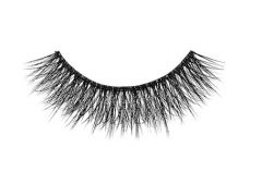 Close-up of an Ardell Mega Volume 252 faux lash for the right eye featuring criss-cross style lash fibers