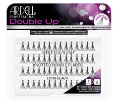 Ardell Knotted Double Up Individuals in long length inside its wall-hook ready retail packaging