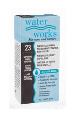 Water Works® Water Activated Permanent Powder Hair Color - #23 Natural Dark Brown