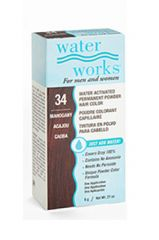 Water Works® Water Activated Permanent Powder Hair Color - #34 Mahogany