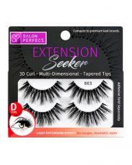 Salon Perfect Extension Seeker 663 D-Curl 2 Pack