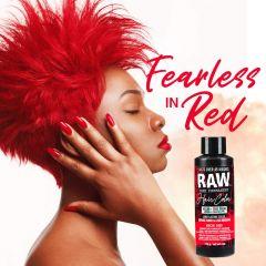 Raw Demi-Permanent Hair Color, Neon Red, 4 fl oz.