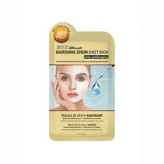 Satin Smooth, Nourishing Serum Sheet Mask, Amino Acid/Energizing, 1 Pc