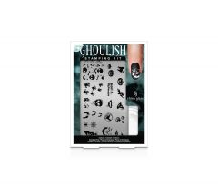 China Glaze Nail Art Ghoulish Stamping Kit