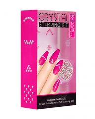 Salon Perfect Crystal Stamping Kit