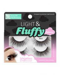 Salon Perfect Light & Fluffy 693 Natural Lash, 2 Pairs