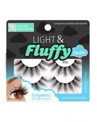 Salon Perfect Light & Fluffy 695 Cluster Lash, 2 Pairs