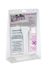 Punky Colour Bleach Kit in transparent clamshell case includes bleach, developer, tint brush, gloves, & manual