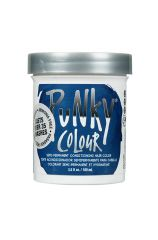 Punky Colour, Semi-Permanent Conditioning Hair Color, Midnight Blue, 3.5 fl oz