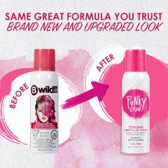 B Wild Temporary Hair Color Spray - Lynx Pink