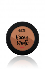 Front view of a closed Ardell Vacay Mode Bronzer Bronze Crazy Rich Sol labeled clamshell case