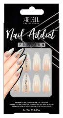 Ardell Nail Addict Premium Nail Set, Nude Light Crystals