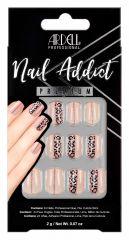 Ardell Nail Addict Premium Nail Set, Cheetah Accent
