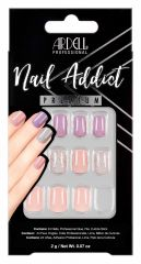 Ardell Nail Addict Premium Nail Set, Pastel Pink & Purple