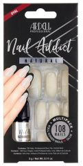 Ardell Nail Addict Natural Oval Multipack