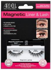 Ardell, Magnetic Liquid Liner & Lash Kit, Demi Wispies™