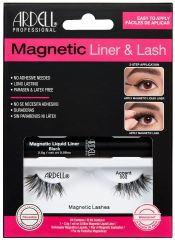 Ardell, Magnetic Liquid Liner & Lash Kit, Accent 002