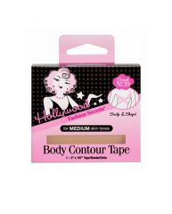 Expansive front view of a wall-hook ready box of body tcontour tape from HFS