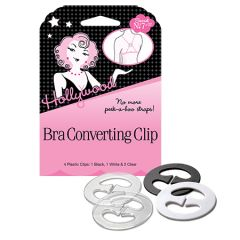 HFS, Bra Converting Clips, 4 Count