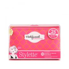 Pink Hollywood Fashion Secrets Stylette kit in a closed transparent pack