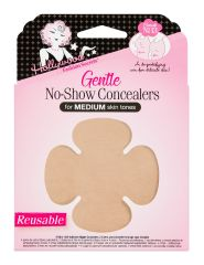 Nipple concealers with Medium skin tones variant from Hollywood Fashion Secrets retail packisolated in white background