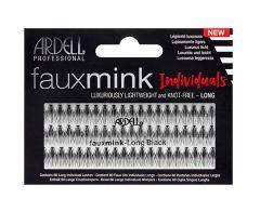 KNOT-FREE FAUX MINK INDIVIDUALS - LONG (BLACK)