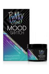 Mood Switch Heat-Activated Temporary Hair Color - Purple to Turquoise