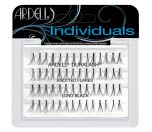 Front view of an Ardell 3D Individuals Combo Pack false lashes set in retail wall hook packaging