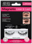 Front view of full Ardell, Magnetic Liquid Liner & Lash Kit, Demi Wisipies set in complete retail wall hook packaging