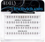 Duralash Flare - Mini false lashes set in complete retail wall hook packaging with printed label text