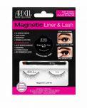Ardell Magnetic  Liner & Lash Kit Lash 110 in packaging showing magnetic gel liner, applicator brush, & 1 pair false lashes