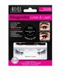 Ardell Magnetic Gel Liner & Lash, Accent 002 in packaging showing magnetic gel liner, applicator brush, & 1 pair false lashes