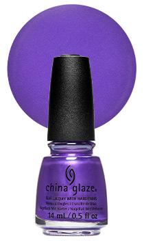 China Glaze Nail Lacquer Purpletonium