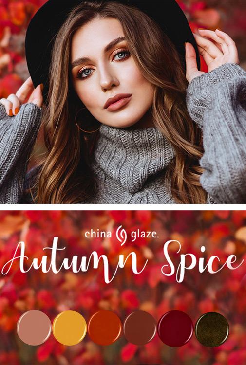 chinaglaze autumn spice collection